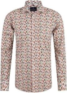 Koszula Di Selentino z tkaniny z długim rękawem