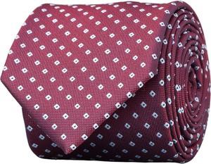 Czerwony krawat Borgio