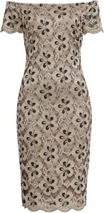Sukienka bonprix BODYFLIRT boutique dopasowana midi