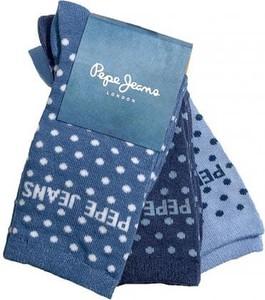 Niebieskie skarpety Pepe Jeans