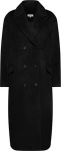 Czarny płaszcz Leger By Lena Gercke z wełny