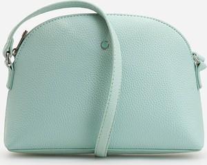 Zielona torebka Reserved na ramię mała w stylu casual