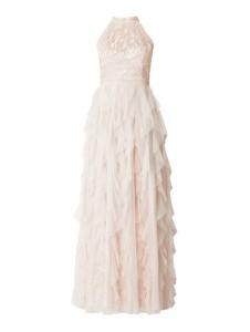 Sukienka V.m. bez rękawów maxi z dekoltem halter