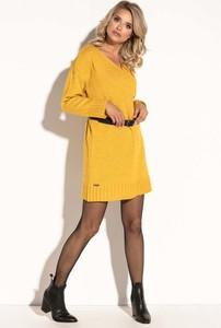 Sukienka Fobya midi z wełny