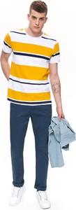 Niebieskie spodnie Top Secret w stylu casual