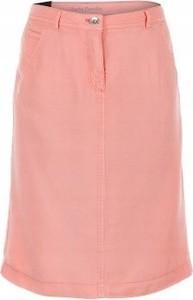Różowa spódnica Betty Barclay z jedwabiu