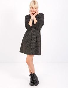 Czarna sukienka Smash z dekoltem w kształcie litery v