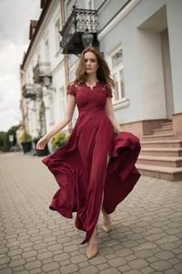 Czerwona sukienka Marconifashion