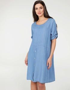 Niebieska sukienka Unisono mini