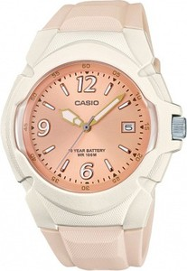Zegarek damski CASIO LX-610-4AVEF różowy