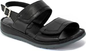 Sandały Caprice w stylu casual z płaską podeszwą z klamrami