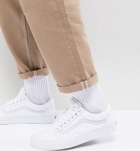 Vans – Old Skool – Białe buty sportowe-Biały