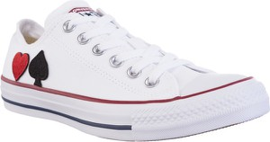 Trampki Converse M7652 RED AND BLACK HEART RED AND BLACK HEART