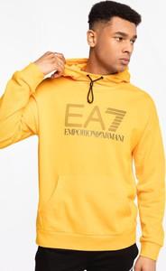 Żółta bluza Emporio Armani z bawełny