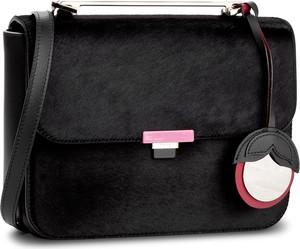 Czarna torebka Furla w stylu casual