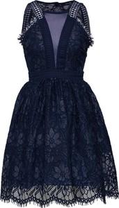 Granatowa sukienka Tfnc mini