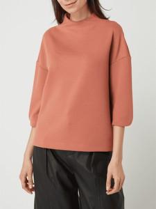 Pomarańczowa bluzka S.Oliver Black Label w stylu casual z okrągłym dekoltem