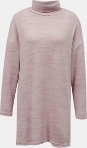 Różowy sweter Tally Weijl w stylu casual