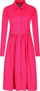 Sukienka MSGM z długim rękawem
