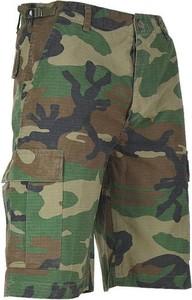 Spodenki Mil-Tec w militarnym stylu z bawełny