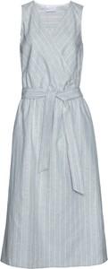 Sukienka bonprix bpc selection premium z dekoltem w kształcie litery v bez rękawów w stylu casual