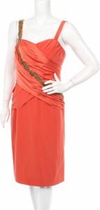 Pomarańczowa sukienka Franc Sarabia