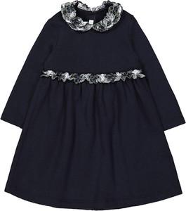 Sukienka dziewczęca Il Gufo z bawełny