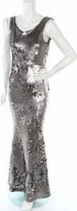 Sukienka True Decadence maxi z dekoltem w kształcie litery v