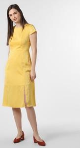 Sukienka Ted Baker w stylu casual z krótkim rękawem z okrągłym dekoltem