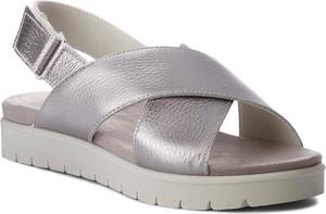 Sandały imac w stylu casual na rzepy ze skóry