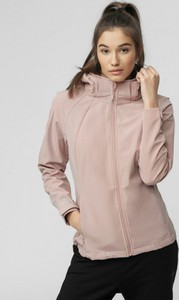 Różowa kurtka 4F krótka