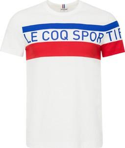 T-shirt Le Coq Sportif z krótkim rękawem z bawełny