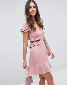 Sukienka Asos Design z krótkim rękawem