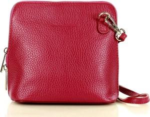 Czerwona torebka MAZZINI średnia