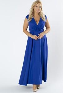 Niebieska sukienka Moda Dla Ciebie