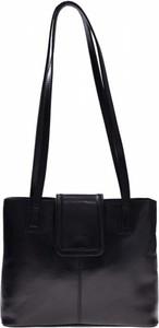 Czarna torebka Vera Pelle średnia