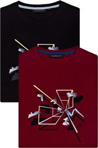 T-shirt LANCERTO z krótkim rękawem z dżerseju