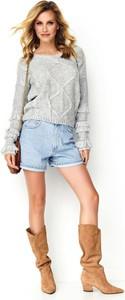 Sweter Makadamia z wełny