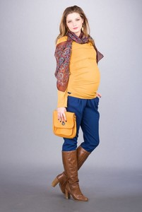 Spodnie Bebefield z tkaniny