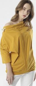 Żółta bluzka born2be z golfem