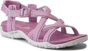 Fioletowe sandały merrell