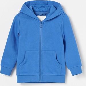 Niebieska bluza dziecięca Reserved dla chłopców