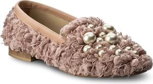 Półbuty hego's milano - 1034-1 rosa/perle