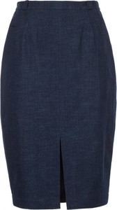 Spódnica VISSAVI z jeansu midi w street stylu