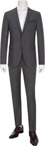 Czarny garnitur Carl Gross z tkaniny