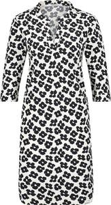 Sukienka Penn&ink N.y prosta z długim rękawem