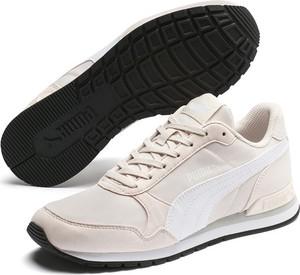 Buty sportowe Puma sznurowane ze skóry z płaską podeszwą