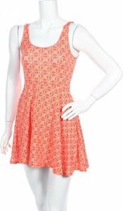 Pomarańczowa sukienka Ecote w stylu casual