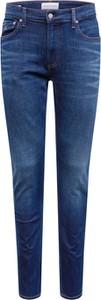 Niebieskie jeansy Calvin Klein z jeansu