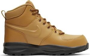 Buty dziecięce zimowe Nike sznurowane ze skóry
